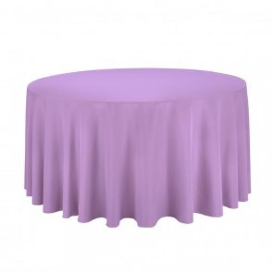 Lavender Round Table Linen