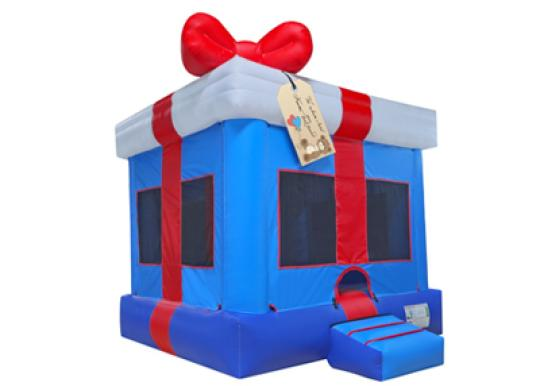 inflatable gift box bouncer rental