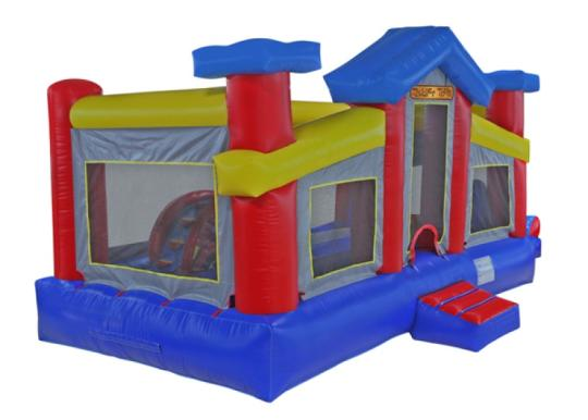 toddler bounce house combo