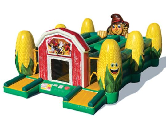corn maze inflatable