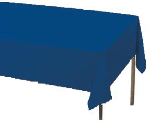 blue table covers