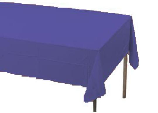 purple table covers