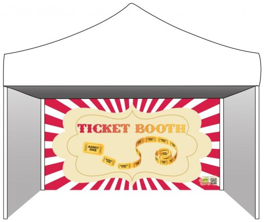 Ticket Booth Tent