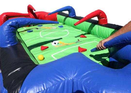 rent inflatable Air Foosball Game
