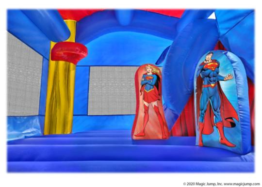 5in1 Superman Bounce and Slide Combo