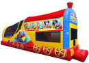 mickey inflatable combo, mickey bounce house
