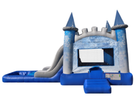 EZ Ice Castle Combo Waterslide