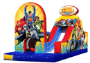 justice league obstacle course, superhero obstacle course