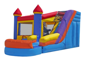 6in1 Castle Combo Waterslide
