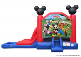 EZ Mickey Mouse Combo Waterslide