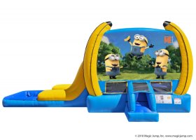 EZ Despicable Me Combo Waterslide