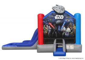 EZ Star Wars Combo Waterslide