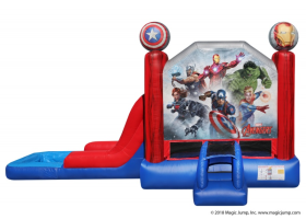EZ Marvel Avengers Combo Waterslide