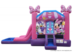 EZ Minnie Mouse Combo Waterslide