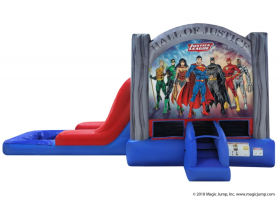 EZ Justice League Combo Waterslide