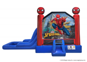 EZ Spider Man Combo Waterslide