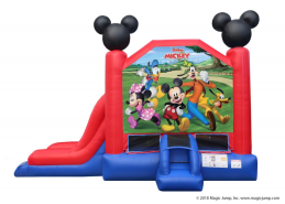 Mickey Mouse inflatable combo