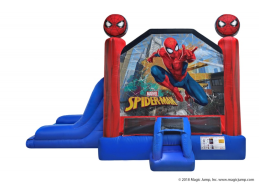 spider man inflatable rental