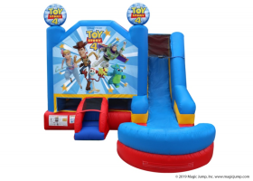 6in1 Toy Story Combo Waterslide