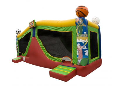 large inflatable combo rental
