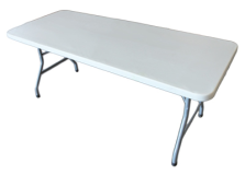 Rectangular Plastic Table