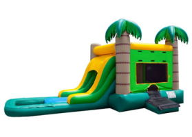 EZ Tropical Combo Waterslide
