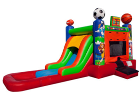 EZ Sports Combo Waterslide