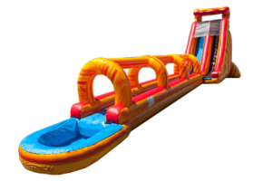 Fire Super Giant Wave Slip and Slide