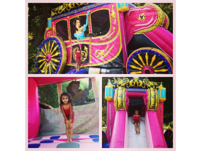 princess carriage inflatable, inflatable princess carriage