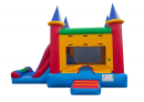 jump and slide, inflatable combo, bounce and slide