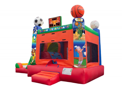 rent 4in1 inflatable combo sports