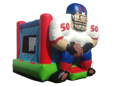 football bouncer rental, rent football bounce house